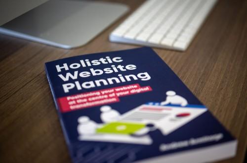 Holistic website planning book imac