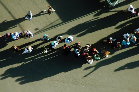 Queue from above