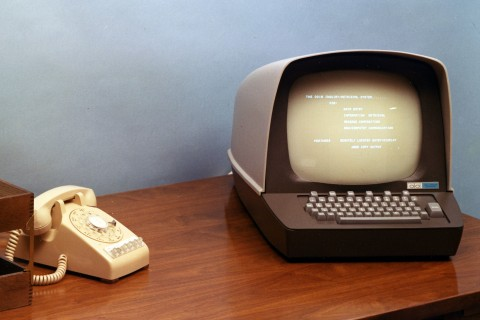 Technology old computers