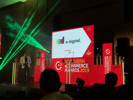 A Digital were finalists in the best food and drink ecommerce website category