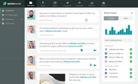 Web Engagement Smart Inbox