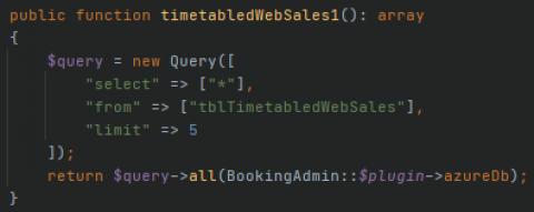 Azure test1 query