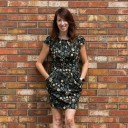 Sarah Townsend profile photo dress and wall Sarah Townsend